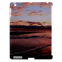 Stunning Sunset On The Beach 3 Apple Ipad 3/4 Hardshell Case (compatible With Smart Cover) by MoreColorsinLife