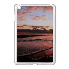 Stunning Sunset On The Beach 3 Apple Ipad Mini Case (white) by MoreColorsinLife