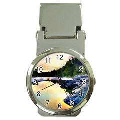 Stunning Nature Evening Money Clip Watches by MoreColorsinLife