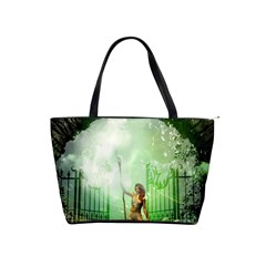 The Gate In The Magical World Shoulder Handbags by FantasyWorld7