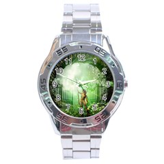 The Gate In The Magical World Stainless Steel Men s Watch by FantasyWorld7