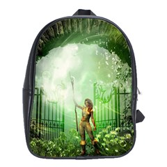 The Gate In The Magical World School Bags (xl)  by FantasyWorld7