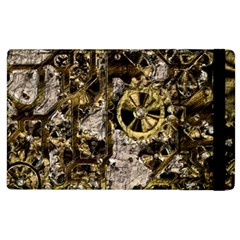 Metal Steampunk  Apple iPad 3/4 Flip Case by MoreColorsinLife