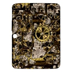 Metal Steampunk  Samsung Galaxy Tab 3 (10.1 ) P5200 Hardshell Case  by MoreColorsinLife