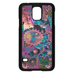 Steampunk Abstract Samsung Galaxy S5 Case (Black) by MoreColorsinLife