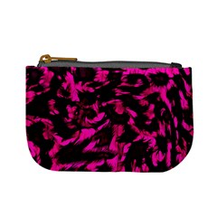Extreme Pink Cheetah Abstract  Mini Coin Purses by OCDesignss