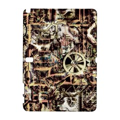 Steampunk 4 Soft Samsung Galaxy Note 10.1 (P600) Hardshell Case by MoreColorsinLife