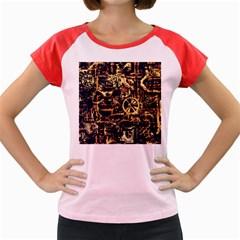 Steampunk 4 Women s Cap Sleeve T-Shirt