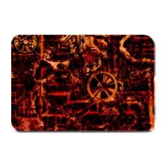 Steampunk 4 Terra Plate Mats by MoreColorsinLife