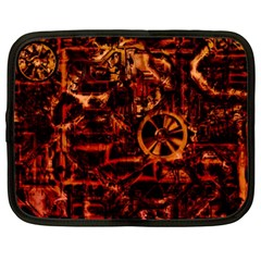 Steampunk 4 Terra Netbook Case (large)	 by MoreColorsinLife