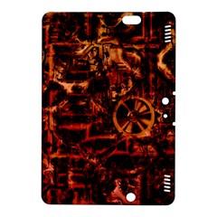 Steampunk 4 Terra Kindle Fire HDX 8.9  Hardshell Case by MoreColorsinLife