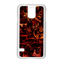 Steampunk 4 Terra Samsung Galaxy S5 Case (white) by MoreColorsinLife