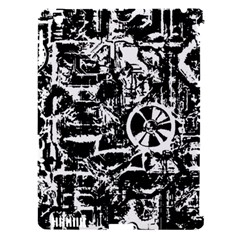 Steampunk Bw Apple iPad 3/4 Hardshell Case (Compatible with Smart Cover) by MoreColorsinLife