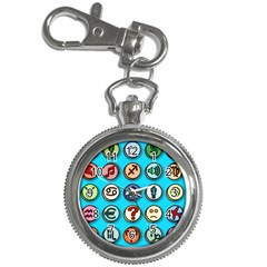 Emotion Pills Key Chain Watches by ScienceGeek