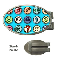 Emotion Pills Money Clips (oval)  by ScienceGeek
