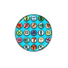 Emotion Pills Hat Clip Ball Marker by ScienceGeek
