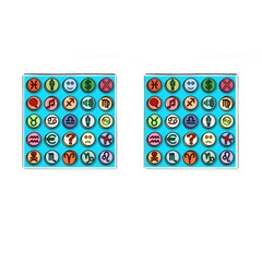 Emotion Pills Cufflinks (square) by ScienceGeek