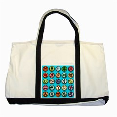 Emotion Pills Two Tone Tote Bag  by ScienceGeek
