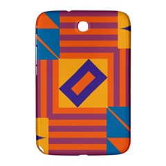 Shapes And Stripes Symmetric Design Samsung Galaxy Note 8 0 N5100 Hardshell Case  by LalyLauraFLM