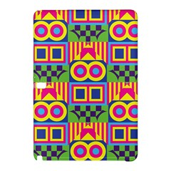 Colorful Shapes In Rhombus Patternsamsung Galaxy Tab Pro 12 2 Hardshell Case by LalyLauraFLM