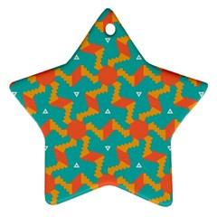Sun Pattern Ornament (star) by LalyLauraFLM