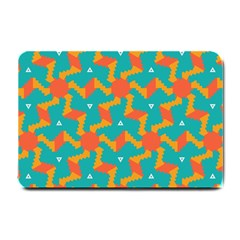 Sun Pattern Small Doormat by LalyLauraFLM