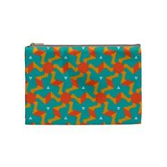Sun pattern Cosmetic Bag (Medium) by LalyLauraFLM
