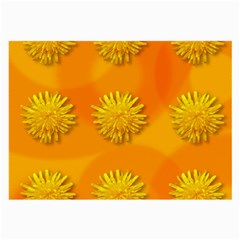 Dandelion Pattern Large Glasses Cloth (2 Side) by theimagezone