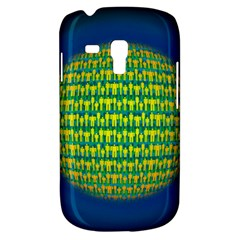 People Planet  Samsung Galaxy S3 Mini I8190 Hardshell Case by theimagezone