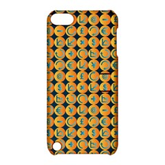 Symbols Pattern Apple iPod Touch 5 Hardshell Case with Stand by theimagezone