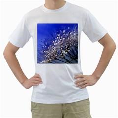 Dandelion 2015 0704 Men s T Shirt (white) (two Sided) by JAMFoto