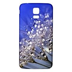 Dandelion 2015 0704 Samsung Galaxy S5 Back Case (White) by JAMFoto