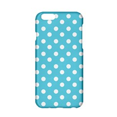 Sky Blue Polka Dots Apple Iphone 6/6s Hardshell Case by creativemom