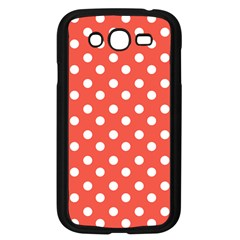 Indian Red Polka Dots Samsung Galaxy Grand Duos I9082 Case (black) by creativemom