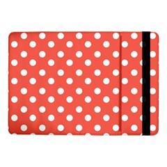 Indian Red Polka Dots Samsung Galaxy Tab Pro 10 1  Flip Case
