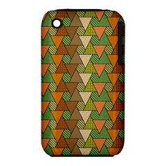 Geo Fun 7 Warm Autumn  Apple Iphone 3g/3gs Hardshell Case (pc+silicone) by MoreColorsinLife