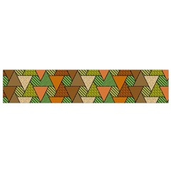 Geo Fun 7 Warm Autumn  Flano Scarf (small)  by MoreColorsinLife