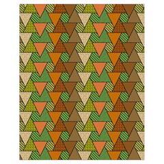 Geo Fun 7 Warm Autumn  Drawstring Bag (small) by MoreColorsinLife