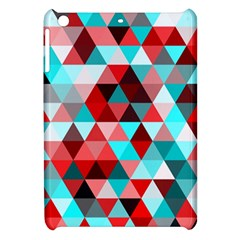 Geo Fun 07 Red Apple iPad Mini Hardshell Case by MoreColorsinLife