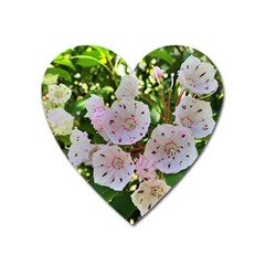 Amazing Garden Flowers 35 Heart Magnet by MoreColorsinLife