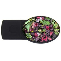 Amazing Garden Flowers 33 USB Flash Drive Oval (2 GB)  by MoreColorsinLife