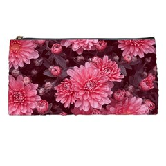 Awesome Flowers Red Pencil Cases by MoreColorsinLife