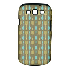 Spatula Spoon Pattern Samsung Galaxy S III Classic Hardshell Case (PC+Silicone) by creativemom