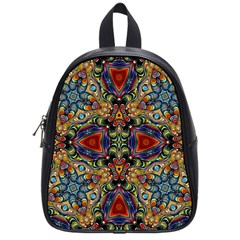 Magnificent Kaleido Design School Bags (small)  by MoreColorsinLife