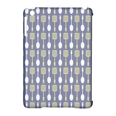 Spatula Spoon Pattern Apple Ipad Mini Hardshell Case (compatible With Smart Cover) by creativemom