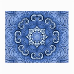 Awesome Kaleido 07 Blue Small Glasses Cloth by MoreColorsinLife