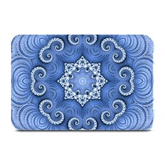 Awesome Kaleido 07 Blue Plate Mats by MoreColorsinLife