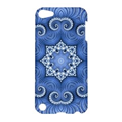 Awesome Kaleido 07 Blue Apple Ipod Touch 5 Hardshell Case by MoreColorsinLife