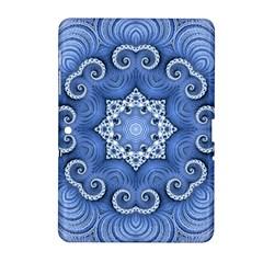 Awesome Kaleido 07 Blue Samsung Galaxy Tab 2 (10 1 ) P5100 Hardshell Case  by MoreColorsinLife