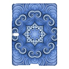 Awesome Kaleido 07 Blue Samsung Galaxy Tab S (10 5 ) Hardshell Case  by MoreColorsinLife